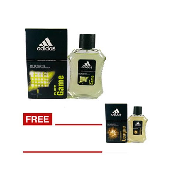 Mentimun Adidas Pure Game Edt Parfum Pria 100 Ml Gratis Adidas